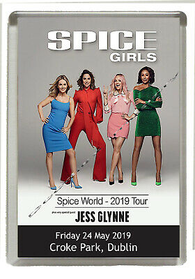 Spice Girls - Spice World 2019 Croke Park - Fridge Magnet Jumbo Size 90mm x 60mm