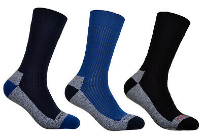 3 pairs of Mens Cotton Coolmax walking Socks