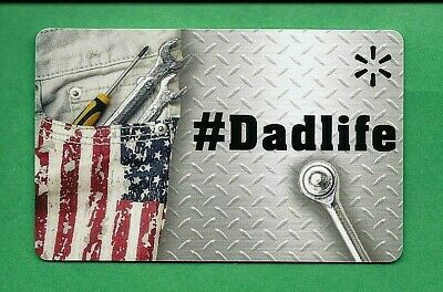 Walmart  # Dad Life  Father's Day Gift Card No Value
