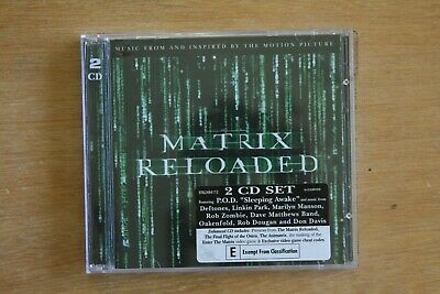 The Matrix Reloaded: The Album   (Box C754)