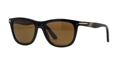 67113c012f109 Tom Ford Andrew TF 500 FT0500 S 01H Dark Brown Polarized Lenses Men  Sunglasses
