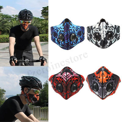 Motorcycle Cycling Bicycle Anti-Pollution Half Mask Outdoor Dust Soft  UK
