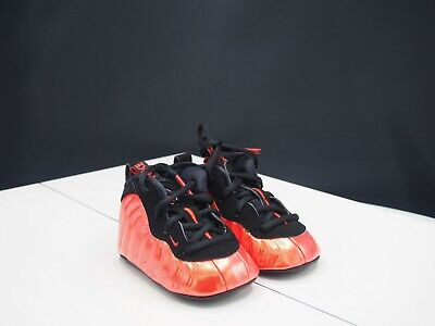 8543ef354cfcf BABY NIKE LIL Posite One Foamposite Basketball Crib Shoes - Copper ...