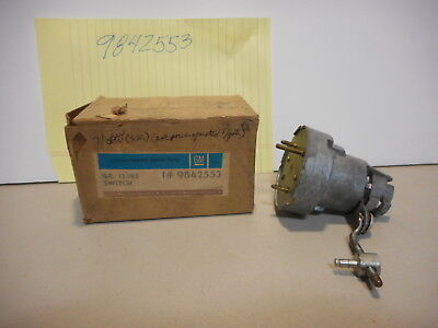 71 Chevy, Buick, Olds Station Wagon Tail Gate Elec. Window Lock Rel. Switch, NOS