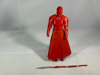 "Star Wars the Black Series The Last Jedi Elite Praetorian Guard 6"" Figure LOOSE"
