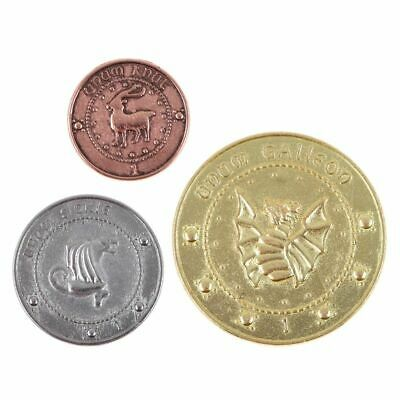 3Pcs/Set Noble Collection Harry Potter The Gringotts Bank Coins Collection Gifts