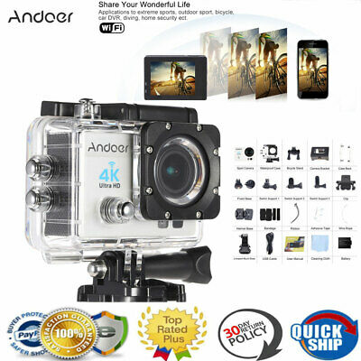 """Andoer Q3H 2"""" Ultra-HD Action Camera LCD 4K 1080P 60FPS Wifi Wireless 16MP R0P7"""