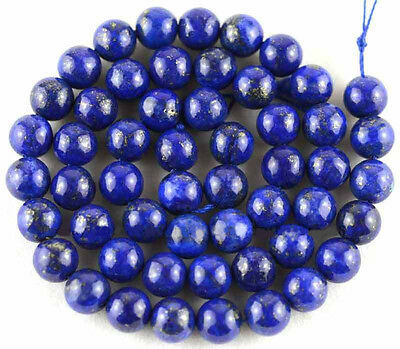Wholesale Natural Lapis Lazuli Round Gemstone Loose Spacer Beads 4/6/8/10/12mm