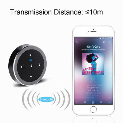 Bluetooth Steering Wheel Remote Control Wireless Car Media Button Music Player