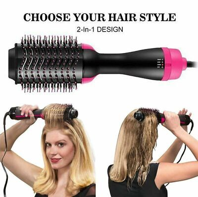 Pro Collection Salon One-Step Hair Dryer and Volumizer Comb Save