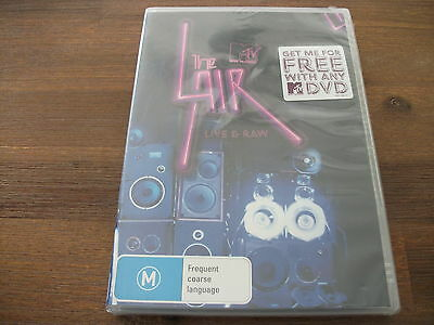 MTV The Lair Various Artists DVD Region 4 DVD Rated M Brand NEW & Factory Sealed
