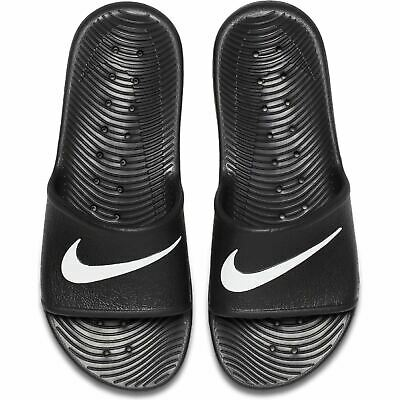 competitive price a6838 b7fc6 Nike Mens Summer Kawa Shower Flip Flops Sliders Black (832528-001)