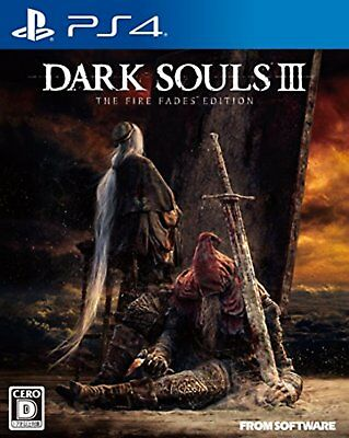 Ps4 Dark Souls III The Fire Fades Édition Regulare Ver. F/S NEUF Japon W/