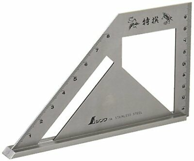 SHINWA Miter Square Metric Stainless Steel Standard Model 62081 F/S w/Tracking#
