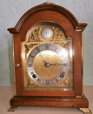 Elliott of London Mahogany Bracket Clock Serviced & Overhauled