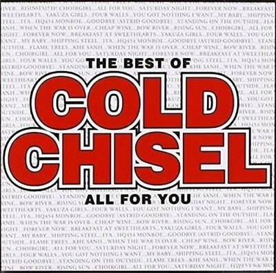COLD CHISEL - THE BEST OF all for you NEW SEALED 20 TRACK CD - Jimmy Barnes Moss