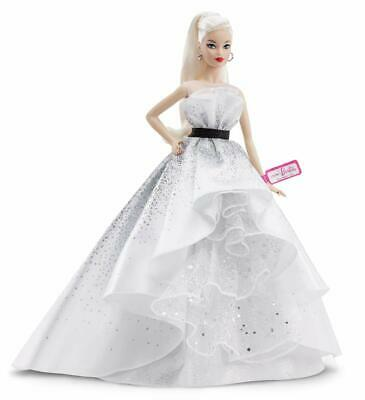 Barbie Collector 60th Anniversary Doll with Diamond-Inspired Gown Blonde Hair