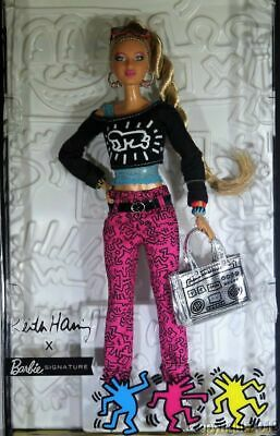 2019 Keith Haring Barbie Doll Gold Label UK Stock Shipping Now