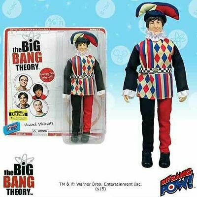 The Big Bang Theory Action Figure Howard Jester 8-Inch Action Figure - Exclusive