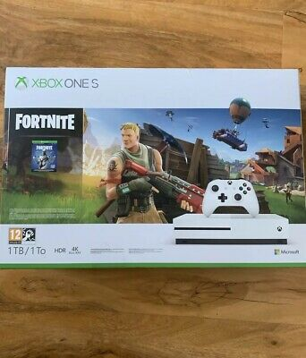 MICROSOFT Xbox One S with Fortnite  1 TB console Authentic Fast Delivery