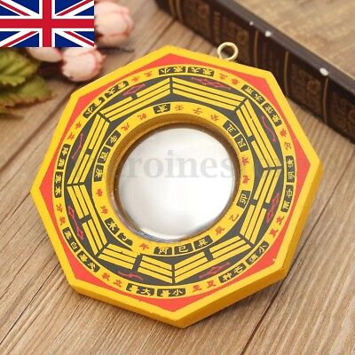 Chinese Feng Shui Dent Convex Bagua Mirror Lucky Blessing House Protection