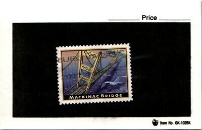 CSS  - US 4438, $4.90 Mackinac Bridge, Used, #3