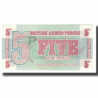 [#610419] Banknote, Great Britain, 5 New Pence, KM:M44a, UNC(65-70)
