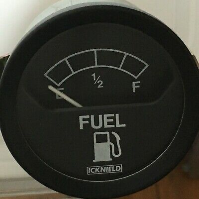 52mm icknield quality Car Boat Fuel Level Meter Gauge