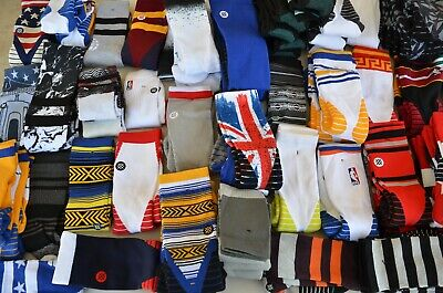 (Lot of 3) Stance NBA Crew Basketball Men Socks, Large L (9-12) - Grade B Sock