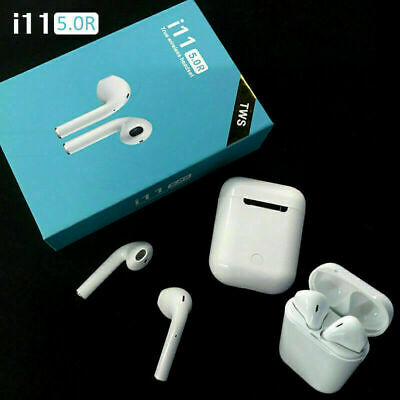i11 TWS Wireless Earphone Bluetooth 5.0 Touch Headphones Earbuds Airpods Iphone