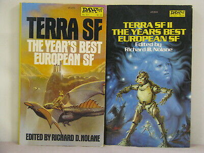 1sts,II signed by Poul Anderson,Terra SF I & II ed by Richard D Nolane (1981/3)