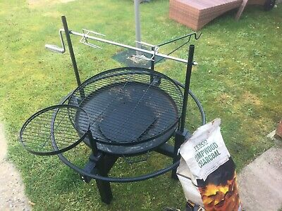 Barbecues Enthusiastic Greek Cypriot Charcoal Outdoor Rotisserie Barbecue Bbq Grill Foukou Cool In Summer And Warm In Winter
