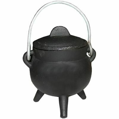 Cast Iron Cauldron 7cm Wicth Wicca Pagan Occult