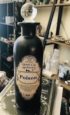Poison Potion Bottle 19 cm  Witch Wicca Pagan Occult
