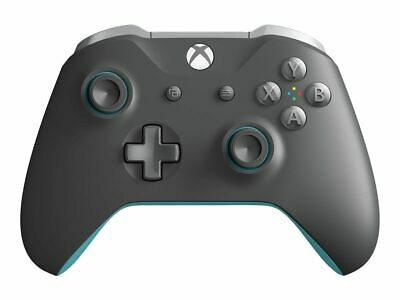 Microsoft WL3-00105 Xbox One Wireless Controller, Gray & Blue
