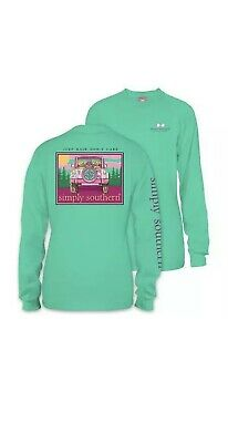 d0e30e8f Simply Southern Womens Long Sleeve T Shirt Jeep Hair Dont Care Size Medium  New
