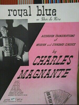 ACCORDION SOLO SHEET MUSIC NOS SOLFEGGIETTO Cm BY CHARLES MAGNANTE
