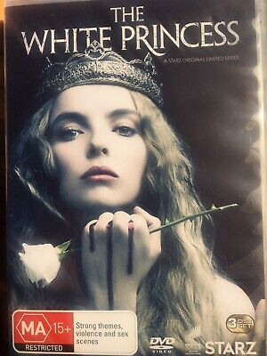 THE WHITE PRINCESS - The Complete Series - 3 x DVD Set AS NEW! Season One