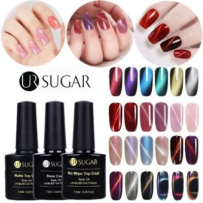 24Colors 3D Cat Eye UV Gel Nail Polish Holographic Chameleon Soak Off Varnish
