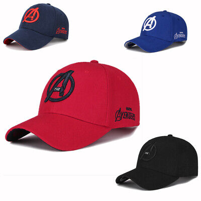 06dbae2b The Avengers 4 Endgame Snapback Hat Baseball Cap Adjustable Cap NavyRed  Black