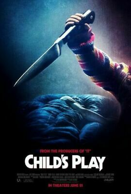 Child/'s Play Horror Movie Art Silk Canvas Poster 12x18 24x36 inches
