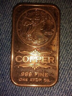 Coins & Paper Money 1 Oz Copper Bars Lot Of 16