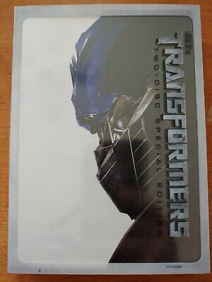 Transformers (DVD, 2007, 2-Disc Set, Special Edition) w/ Slipcover. Shia LaBeouf