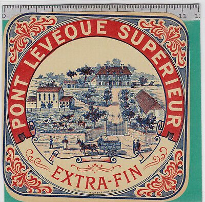 M248 Fromage Pont L Eveque Extra Fin Attelage Ferme Fromagerie