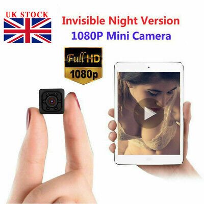 Mini Spy IP Camera Wireless HD 1080P Hidden Home Security Night Vision UK