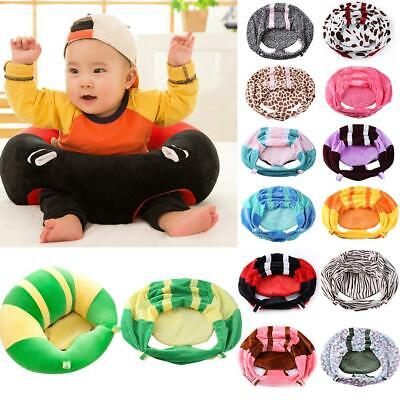 Sofa Support Seat Cover Baby Plush Chair Learning To Sit Up Cushion No Filler