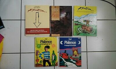 lot 5 bd FRED Philemon, time is money, le noir couleur et lavis, dernière image