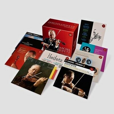 RCA 24-CD Box 888430953420 Jascha Heifetz Complete Stereo Collection 2016 SEALED