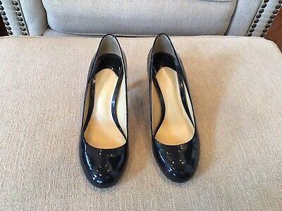 dbf35d7744 GIANNI BINI PUMPS size 7 M in Navy Patent Leather - $19.99 | PicClick