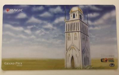 MTG Grand Prix Seattle Vintage/Legacy Playmat 2018, Urza's Tower (Spring Plains)